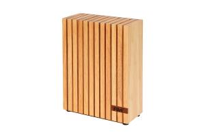 Furi Pro 5 Slot Wood Knife Block - 50% OFF