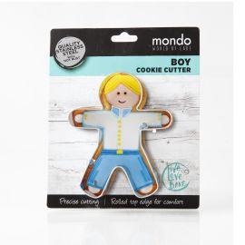 Mondo Boy Cookie Cutter