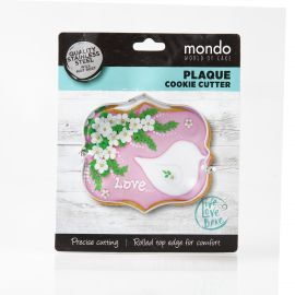 Cookie Cutter Rect Plaque