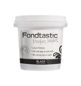 Fondtastic Fondant Black 226gm