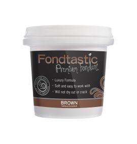 Fondtastic Fondant Brown 226gm