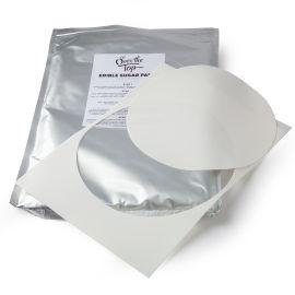 Edible Icing Sheet20cm Circle 24pack