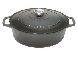 Chasseur Oval 3.6ltr Caviar