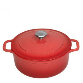 Chasseur Round F/oven 28cm Coral