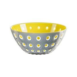 Guzzini Bowl 25cm Grey/wht /Yellow
