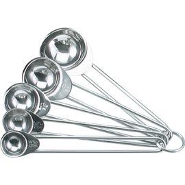 Measure Spoon Set 5pce S/s