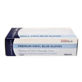 Glove Blue Med Powder Free (100)