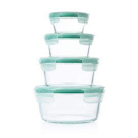 Oxo 4pce Smart Seal Rnd Container Set