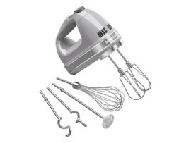 KitchenAid 9 Speed Hand Mixer Silver