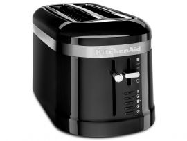 Kaid Dual Long Slot Toaster Black