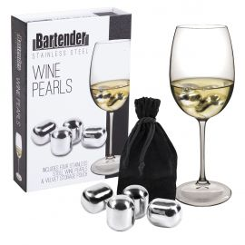 S/s Wine Pearls Set 4