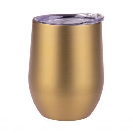 Oasis Dwall Wine Tumbler 330ml Champagne Gold