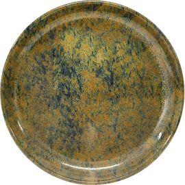 Artistica Plate R/brown 190mm