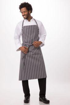 Grey English Chef Apron