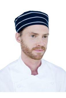 Box Hat - Navy/white Stripe Regular