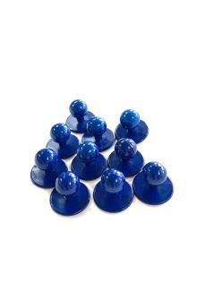 Stud Button Blue Pack 10
