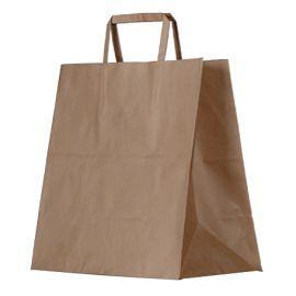 Kraft Bag W/handle 345x320x150 (200)