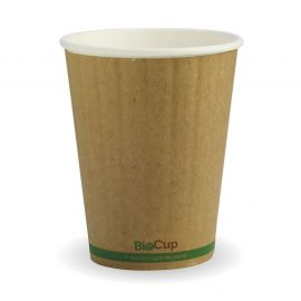 BioPak 12oz Cup Kraft Double Wall (1000)