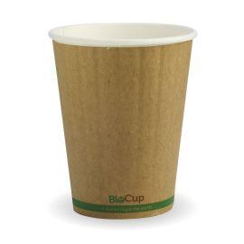 BioPak 12oz Cup Kraft Double Wall (40)