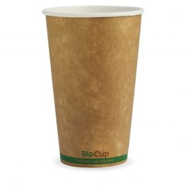 BioPak 16oz Cup Kraft Single Wall (50)