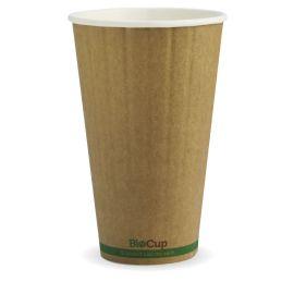 BioPak 16oz Cup Kraft Double Wall (600)