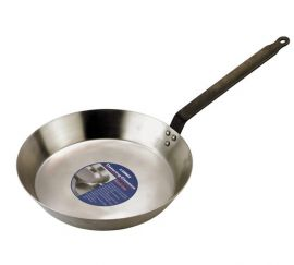 Black Iron Frypan 25cm