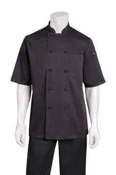 Canberra Blk S/sl Basic Coat Xs