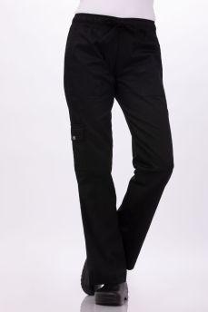 Cargo Pants Womens  Black X-small