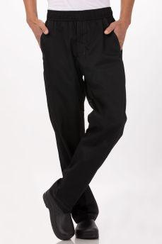 Cool Vent Blk Baggy Pants Lge