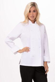 Marbella Womens Exec Chef Coat Xs