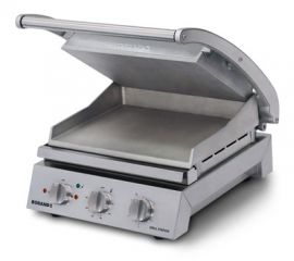 Roband Grill Station Smooth plates 6 slice
