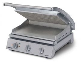Roband Grill Station 8 slice Ribbed Top