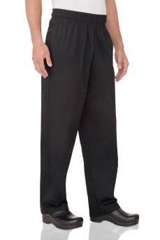 Black Chef Pants Lge