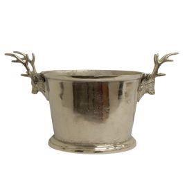 Oval Wine Bucket Deer