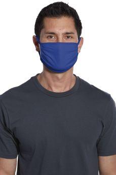 Reusable Cotton Face Mask - Blue (5pk)
