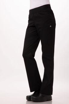 Womens Slim Pants Black Medium