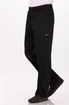 Cargo Chef Pants Black Small