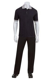 Polo Shirt Black X Large