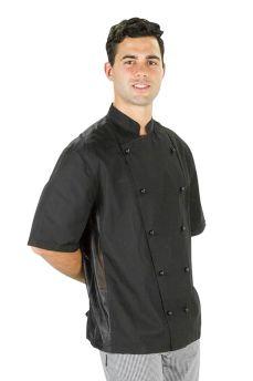 Procool Jacket Short Sleeve Black Medium