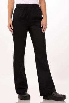 Basic Baggy Pants Women Blk Xs
