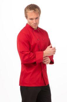 Nantes Red Chef Jacket Medium