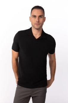 Definity Polo Shirt Black Small