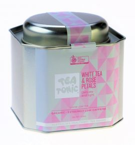 Caddy Tin - White Tea & Rose Petals
