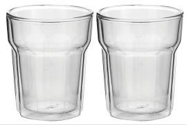 Avanti Nove Twin Wall Glass Set 2 250ml