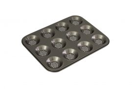 Bakemaster 12cup Shallow Pan