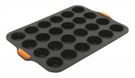 Bakemaster Silicone 24 Mini Muffin Tray