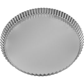 Quiche Pan Fluted 240x25 Rnd