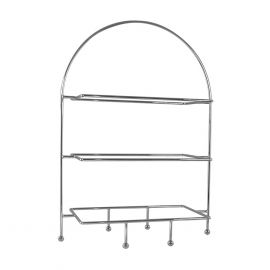 Plate Stand Rect. 2-tier