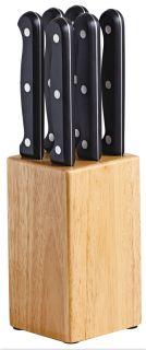 Avanti 7pce Steak Knife Block