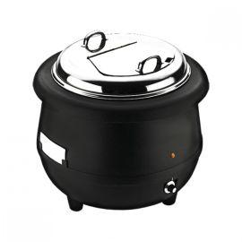 Soup Kettle - Black 10 Ltr